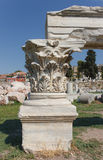 Korinthisches Kapital lizenzfreie stockfotografie