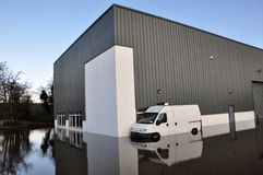 kork översvämmade ireland Royaltyfri Bild