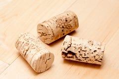 Kork av en wineflaska Fotografering för Bildbyråer