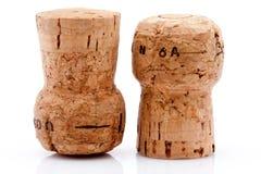 Kork av en wineflaska Royaltyfria Bilder