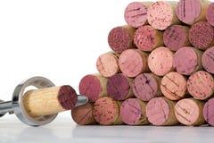 korka wino Zdjęcie Royalty Free