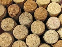 Korkar från vin arkivbilder