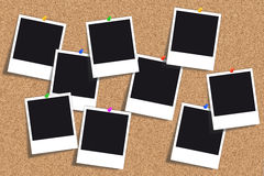 Korkbräde - anslagstavla - Pinboard Royaltyfri Foto
