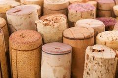 Korken von den Flaschen Lizenzfreie Stockbilder