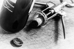 Korkenstopper des italienischen Weins Lizenzfreies Stockfoto