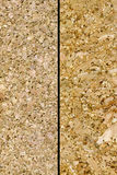 korkowe tekstury dwa obraz stock