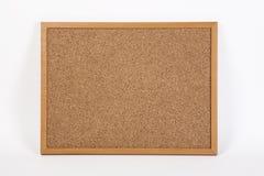 Korkowy deskowy onwhite tło Zdjęcie Stock