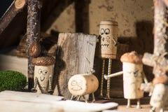 Korkowy dom wiejski Fotografia Stock