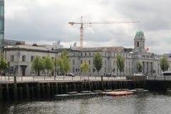 Korkowy miasto dokuje Irlandia Zdjęcie Royalty Free