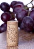 korkowy wino Fotografia Royalty Free