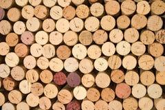 korkuje wino Fotografia Stock