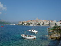 Korkula, Kroatien Lizenzfreies Stockfoto