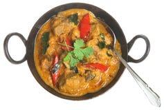 Korma indiański Jagnięcy Curry Obraz Stock