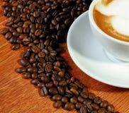 Korn des Kaffees Stockbild