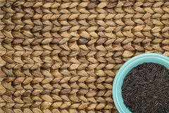 Korn för lösa ris Arkivfoto