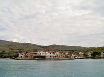 Kornat在克罗地亚 免版税库存图片