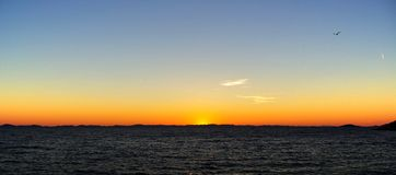 Kornaten Sunset 01 Stock Photo