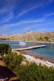 Kornati国家公园在克罗地亚 免版税库存照片