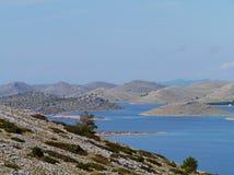 Kornati国家公园 免版税图库摄影