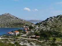 The Kornati archipel Royalty Free Stock Images