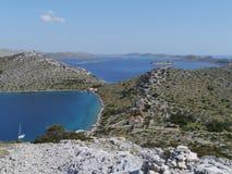 Kornati archipelag Zdjęcie Stock