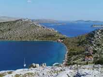 The Kornati Archipelago Royalty Free Stock Image