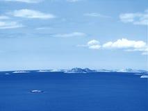 Kornati islands. View of croatian islands kornati stock image