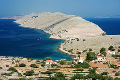 Kornati islands, Croatia. Landscape of Kornati islands in Croatia Royalty Free Stock Photo