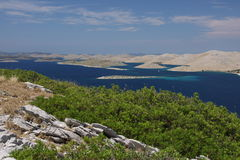 Kornati islands Royalty Free Stock Images