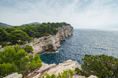 Kornati National Park in Croatia Royalty Free Stock Image