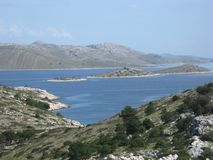 The Kornati national park Stock Image