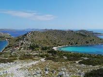 The Kornati national park Royalty Free Stock Photos
