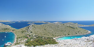 Kornati nationalpark royaltyfri bild