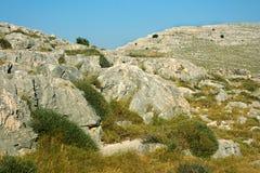 Kornatieilanden, Kroatië Stock Foto's