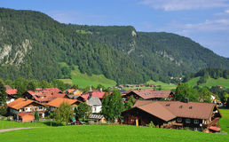 Kornau near Oberstdorf,Bavaria Royalty Free Stock Photo