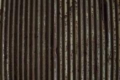 Kornbild av galvaniserad textur för järndetaljvägg Galvaniserat I royaltyfri fotografi