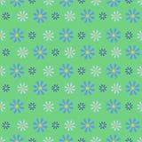 Kornblumenblau-Feld Nahtloses Muster Stockbild