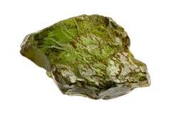Kornerupine è una pietra preziosa molto rara Fotografia Stock