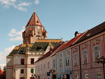 Korneuburg Rathaus Imágenes de archivo libres de regalías