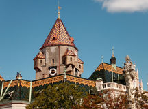 Korneuburg Rathaus Στοκ φωτογραφίες με δικαίωμα ελεύθερης χρήσης