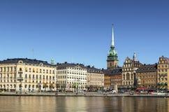 Kornhamnstorg square, Stockholm Stock Photo