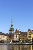 Kornhamnstorg square, Stockholm Royalty Free Stock Images