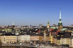 Kornhamnstorg square, Stockholm Royalty Free Stock Photography