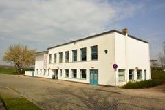 Kornhaus, eine Bauhausflußufer-Bier-undtanzhalle entwarf durch Carl Flieger Lizenzfreies Stockbild