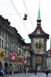 Kornhausplatz in Bern, Switzerland. Stock Photography