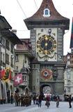 Kornhausplatz in Bern, Switzerland. Royalty Free Stock Photos
