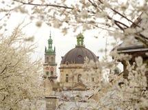 Korniaktatoren en Kerk van het Heilige Avondmaal vroegere Domi Royalty-vrije Stock Foto's