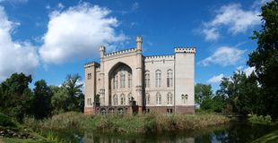 Kornik castle, Poland Royalty Free Stock Photos