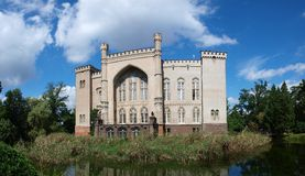 Kornik, château de famille de Dzialynski, Pologne Image libre de droits