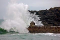 Kornische Küste erhält durch Stürme zerschlagen